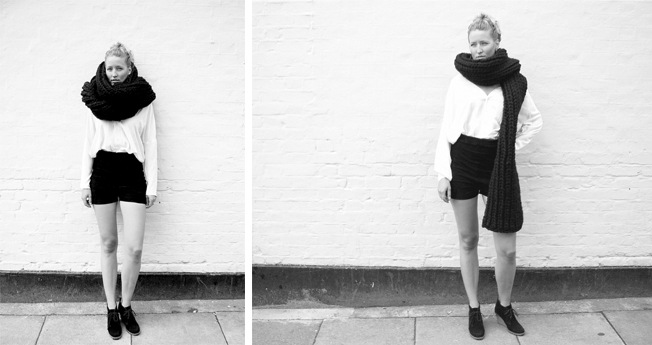Louise Dungate tells the story of her 'Godfather Scarf' - available on ASOS Marketplace now.