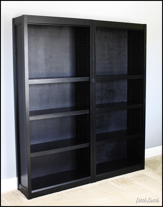 Double Crate & Barrel knock off bookcases