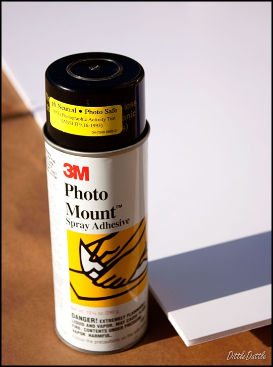 Mounting-Photo-to-mount-board