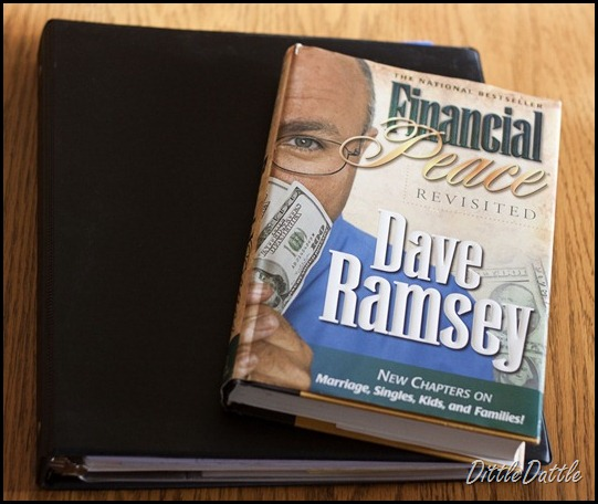 Dave Ramsey Financial Notebook