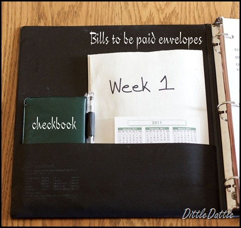 How set up a Dave Ramsey Organizer