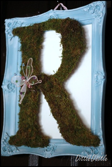 Spring Moss Letter