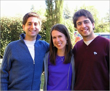 Darin, me, and the girlfriend