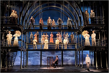 Pictured: The cast of RAGTIME on Broadway at the Neil Simon Theatre.