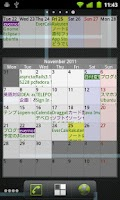 Screenshot of EverCalendar