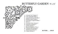 Pre Planned Butterfly Garden