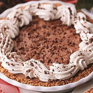 Mocha Pecan Pie with Coffee Whipped Cream