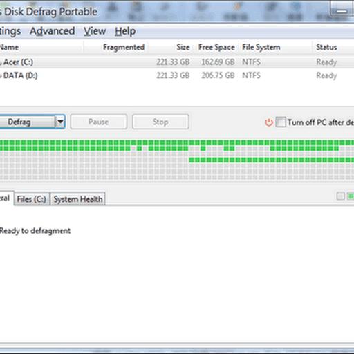 [磁碟重整] Auslogics Disk Defrag 5.1.0.0 英文免安裝版