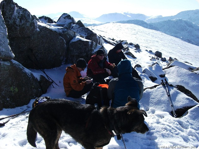 lunch on hindscarth