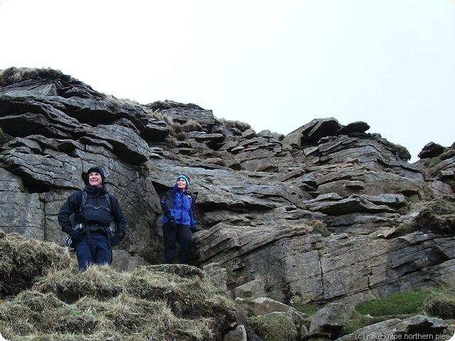 philantini on a rocky bit