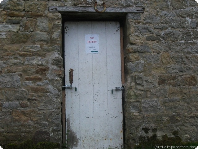 kielderhead bothy door