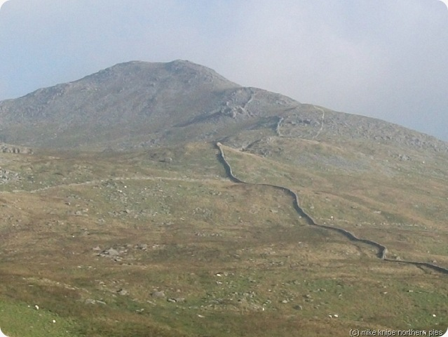 arenig fawr - the way up
