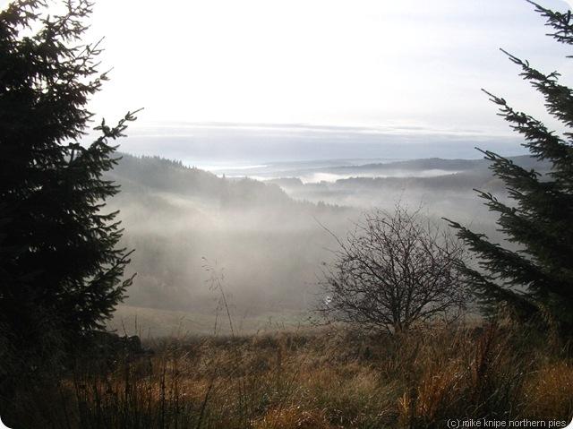 kielder mists from deadwater fell