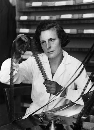 Leni Riefenstahl., 1935