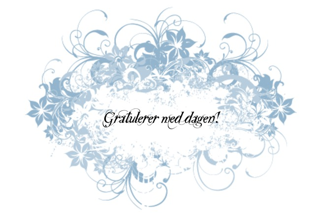 Gratulerer