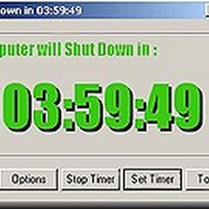 Shutdown Utility software