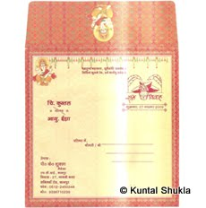  Kuntal's Marriage Invitation Envelope 
