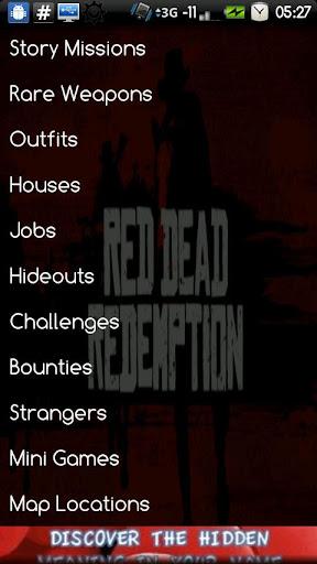 Red Dead Checklist