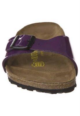 birkenstock madrid sandale lack pflaume quick schuhe. Black Bedroom Furniture Sets. Home Design Ideas