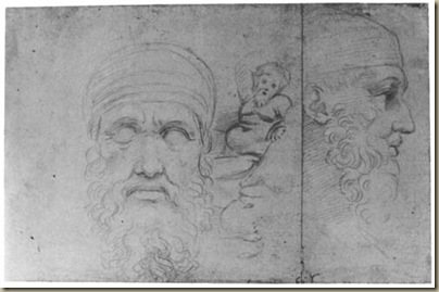 Raffael - Antikenstudien
