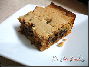 Krista Kooks Chocolate Peanut Buddy Bars 3
