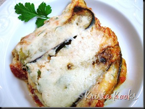 Krista Kooks Lighter Eggplant Parmesean Weight Watchers