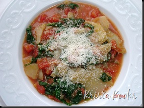 Krista Kooks Potato, Spinach and Tomato Soup 3