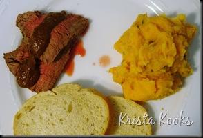 Beef Tenderloin and Parsley Paprika Potaoes