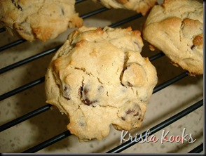 Cream Cheese Chocolate Chip Cookies Krista Kooks 3
