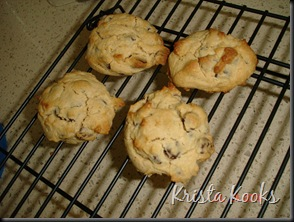 Cream Cheese Chocolate Chip Cookies Krista Kooks