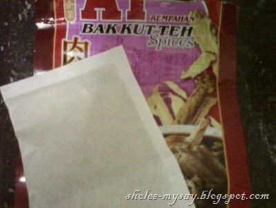 A1 Bak Kut Teh Spices