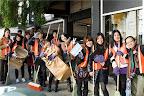 『福岡県青年の翼』によるのびる会訪問