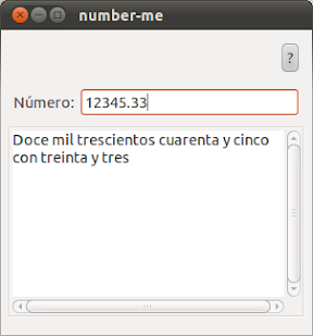 De nmeros a letras, con decimales, en Ubuntu