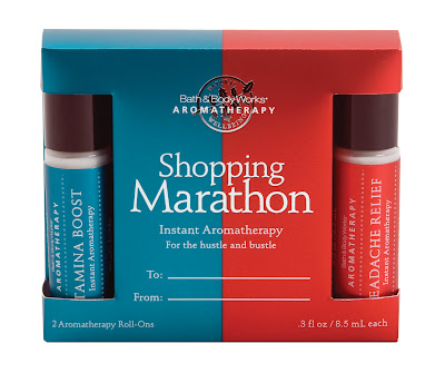 Bath and Body Works Shopping Marathon aromatherapy gift set