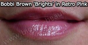 Bobbi Brown's Creamy Lip Color in Retro Pink