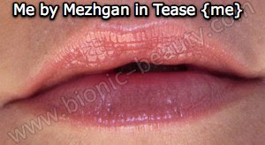 Tease Me lip gloss from Me by Mezhgan
