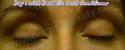 Bionic Beauty tests DeaBella eyelash conditioner