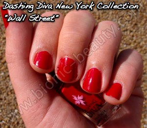Dashing Diva Manhattan collection nail polish in Wall Street