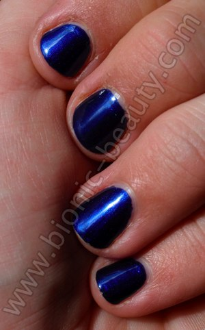 Lancome Fall 2009 makeup collection - Nail Polish swatch of Indigo Paris