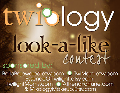 Mixology Makeup sponsors the Twiology Twilight Makeup look-a-like contest