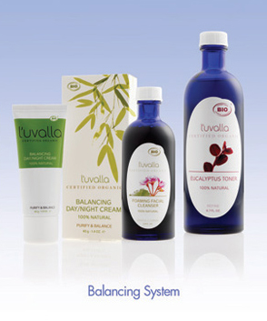 The Bionic Beauty blog reviews: L'uvalla Organic Skincare's Balancing System