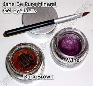 Jane Gel Eyeliners - Colors and formulas that work for every women