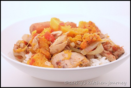 chicken butternut squash stew