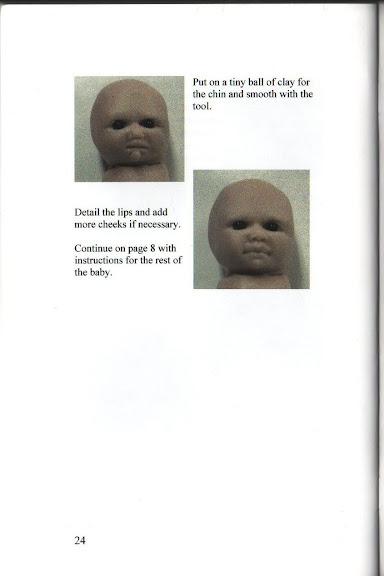 фото мастер-класс по лепке куклы младенца из пластики