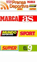 Screenshot of Prensa Deportes