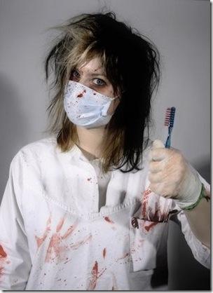 como tirar mancha sangue