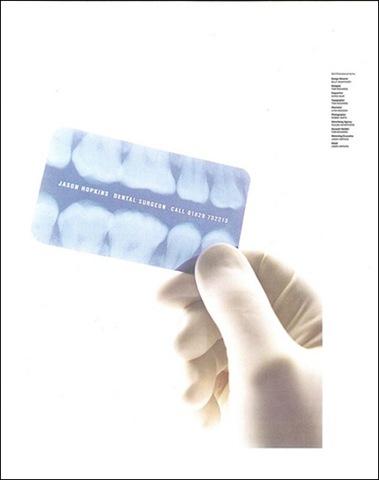 cartão visita raio x