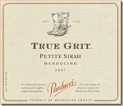 true grit label