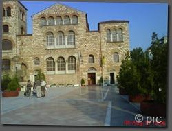 Catedra din tesalonic cu moastele Sfantului Dimitrie
