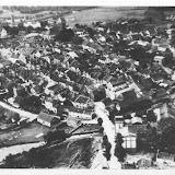 Luftaufnahme von Zinten aus dem Jahr 1930 - von Nord nach Süd